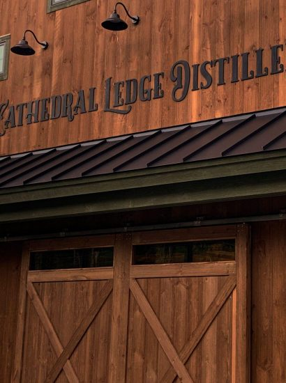 Barn Finished Exterior of Cathedral Ledge Distillery